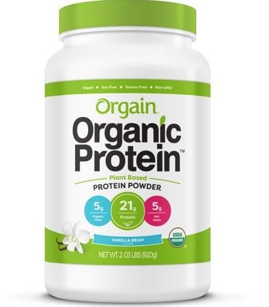 This is a picture of the product Orgain Organic Protein.