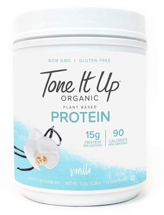 This picture shows the product Tone It Up, a protein powder for pregnancy