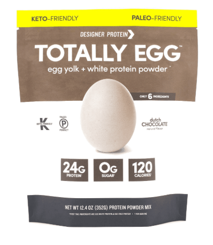 Designer Protein Totally Egg