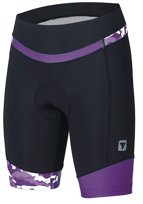 this is a picture of SOEAR padded bike shorts