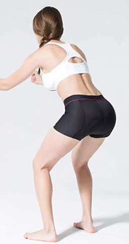 this picture shows workout shorts for women