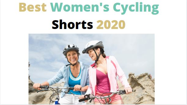 this is the featured image for our top cycling shorts for women review guide