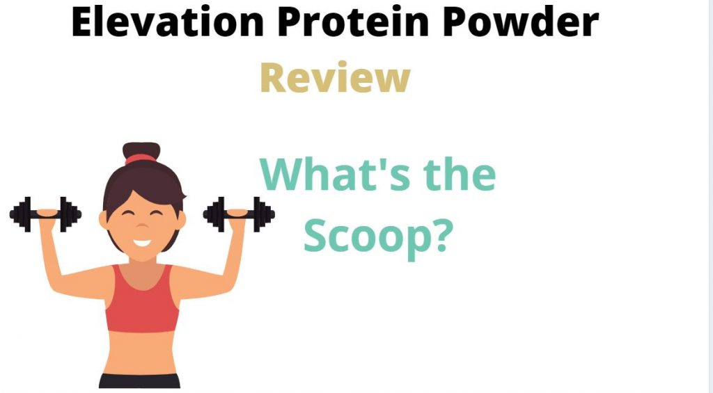 Our featured image for the elevation protein powder review article