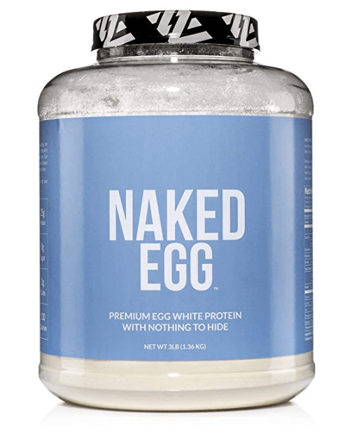 naked egg white protein powder