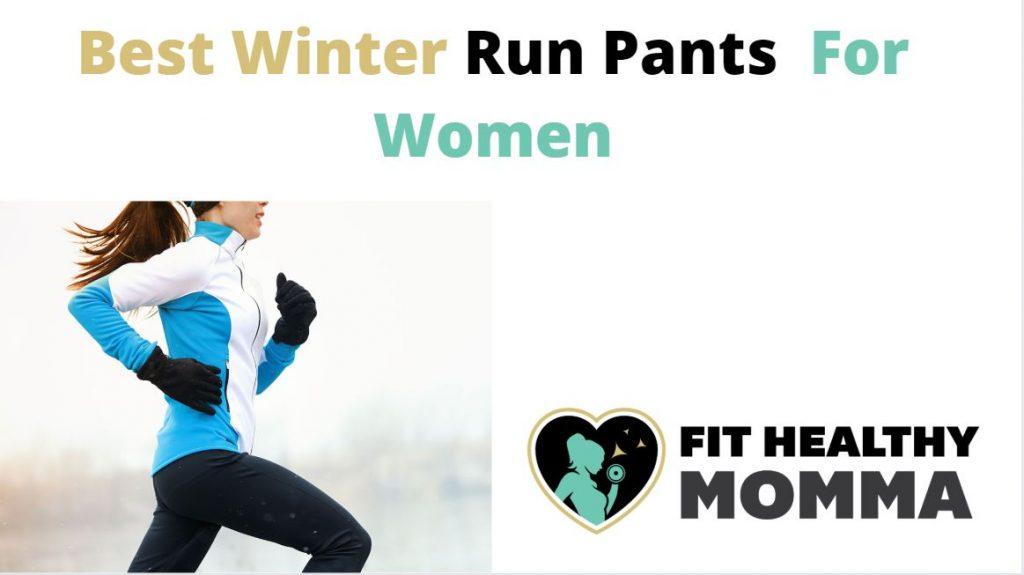 womens winter running pants