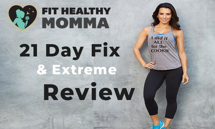 this picture is the featured image of our honest 21 day fix review of workouts