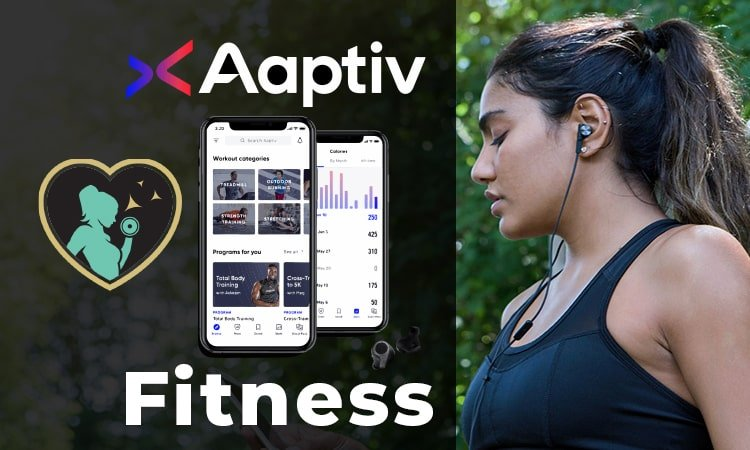 this is our featured image for our article on aaptiv fitness app review