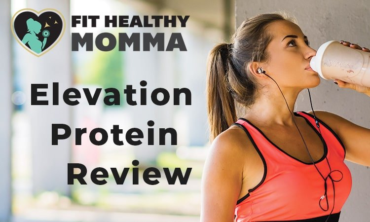 this picture is the featured image of our elevation protein powder review