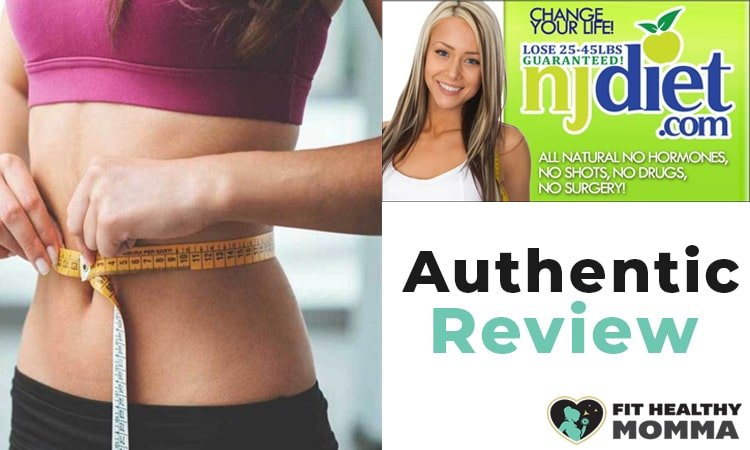 this picture is our featured image for our njdiet reviews guide
