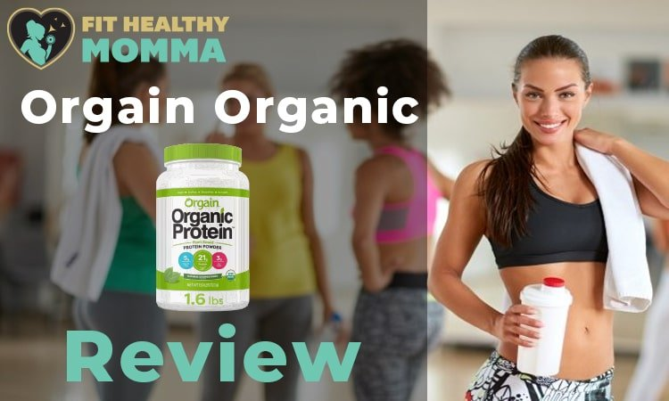 this is a picture of our featured image for the orgain protein powder review article