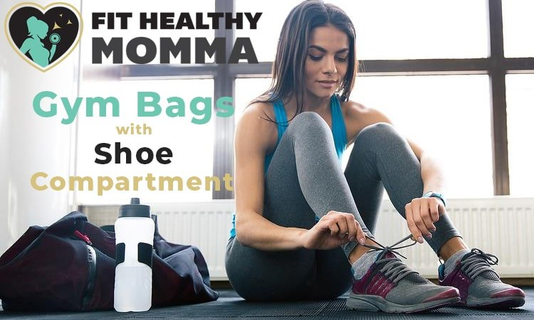this picture is our featured image of our new article the best gym bags with shoe compartment
