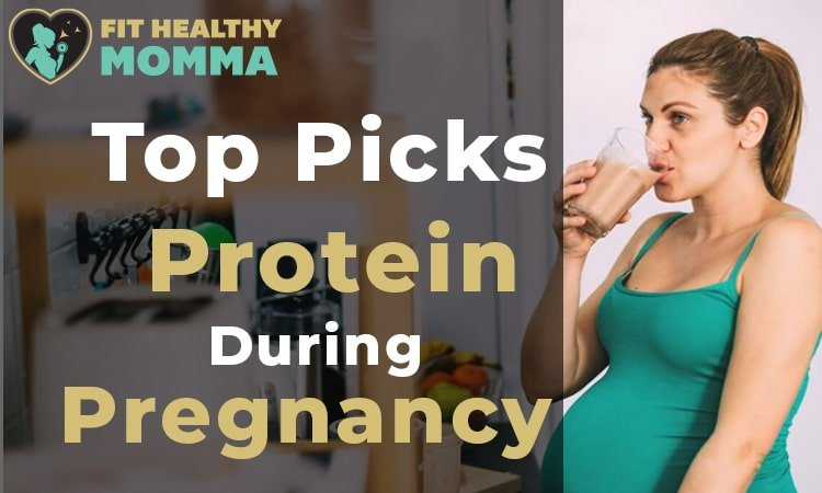 this is a photo of our featured image for the best protein powders during pregnancy article