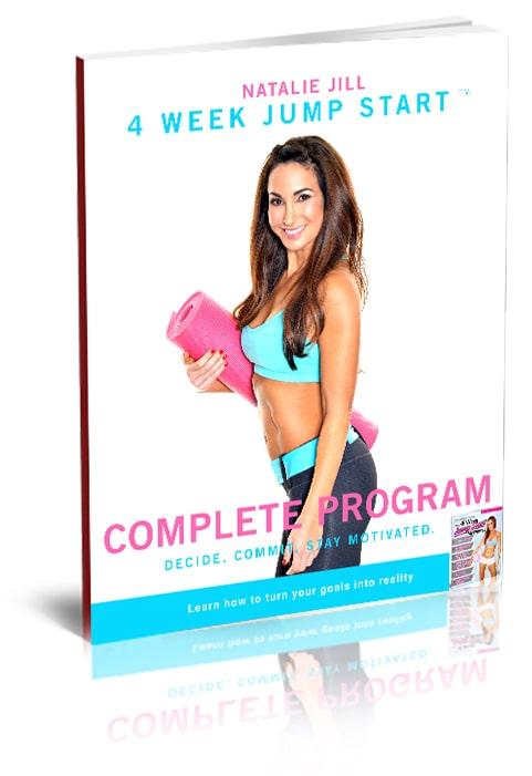 this is an image of Natalie Jill's 4 week jump start program
