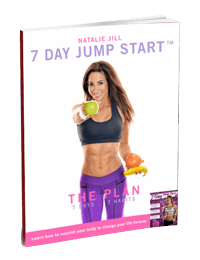 this image is the digital download cover of Natalie Jill's 7 day jump start program