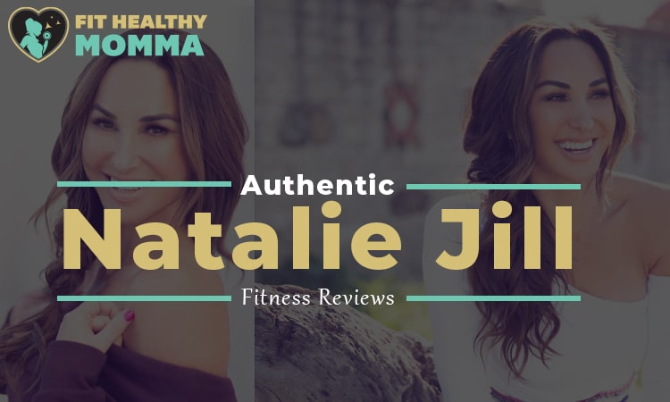this is our featured image for our Natalie Jill fitness and weight loss review article