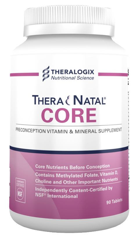 an image of the best pcos product Thera Natal Core Preconception