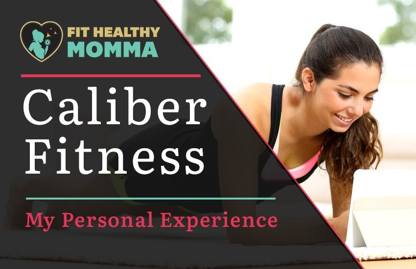 the featured image of caliber fitness review article
