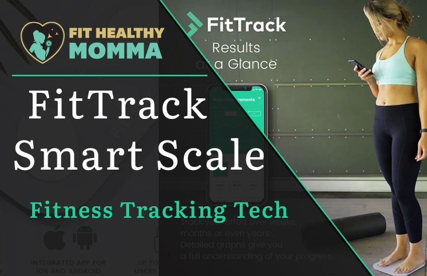 the featured image for the FitTrack smart scale reviews article