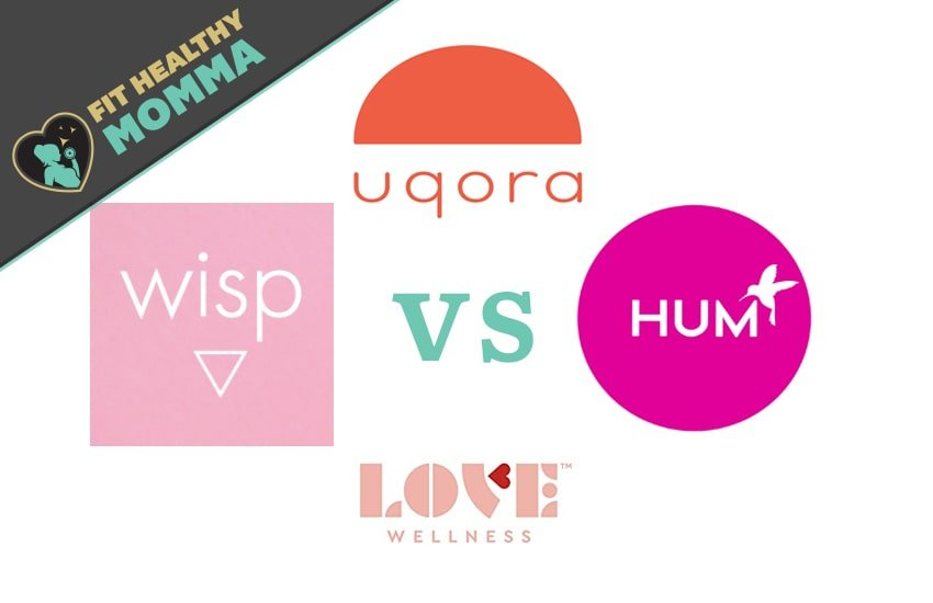 featured image for wisp vs hum vs uqora vs love wellness compare and contrast article