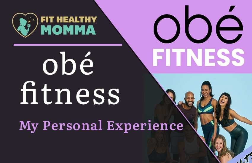 this is our featured image for the obé fitness article - everything you need to know about it