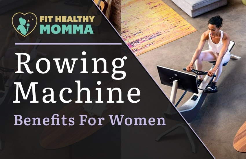 this is our featured image for raising awareness on rowing machines for women