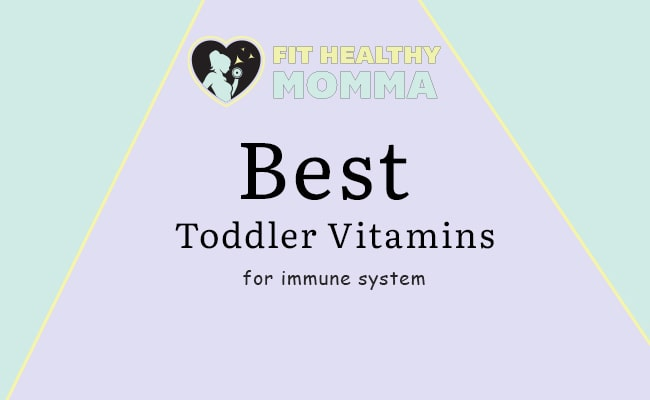 featured image - best vitamins for toddler immune system article