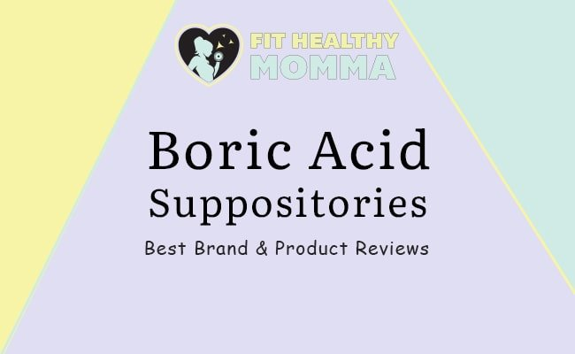 the featured image for the top boric acid suppositories with reviews