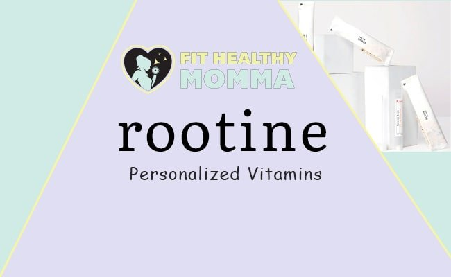 our featured image for the rootine vitamins review article