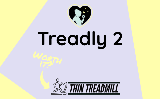 featured image for a review article on the thin treadmill - treadly 2