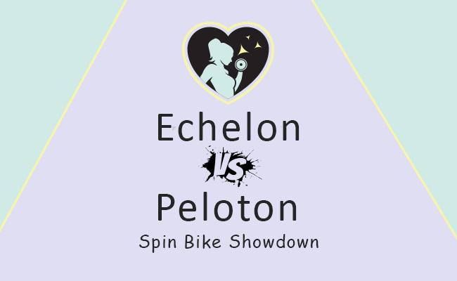comparing echelon vs peloton exercise spin bikes
