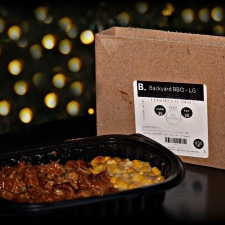 Backyard BBQ - LG fully cooked FlexPro meal delivery