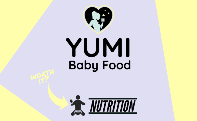 the featured image for YUMI - a baby food delivery service review to see if it is worth it