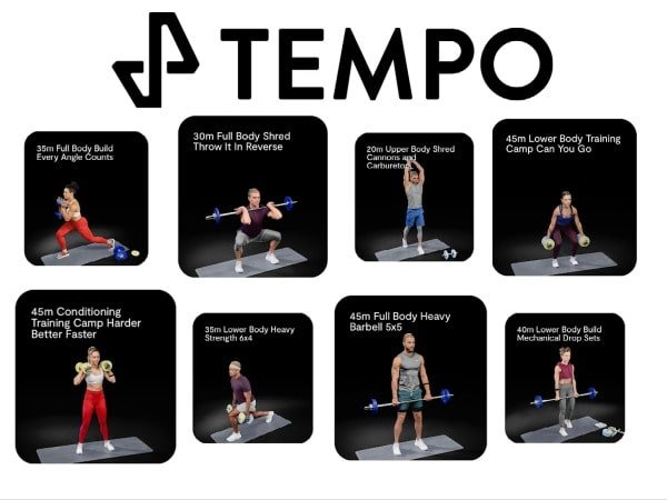 Fitness Classes and Workouts offered by Tempo Studio