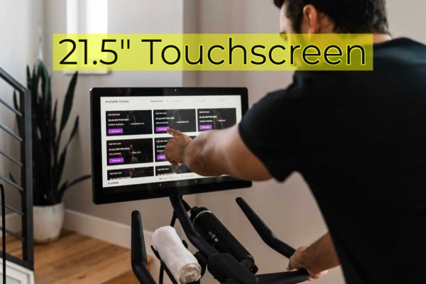 "an image of STYRDE's 21.5"" touchscreen display"
