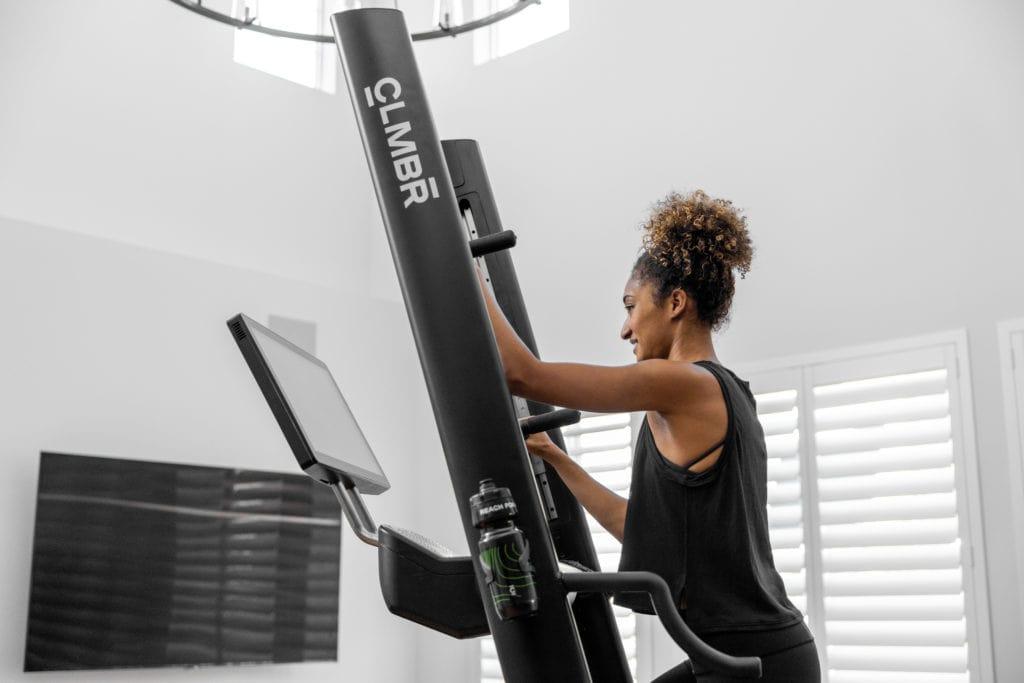 introducing the CLMBR smart vertical climbing machine