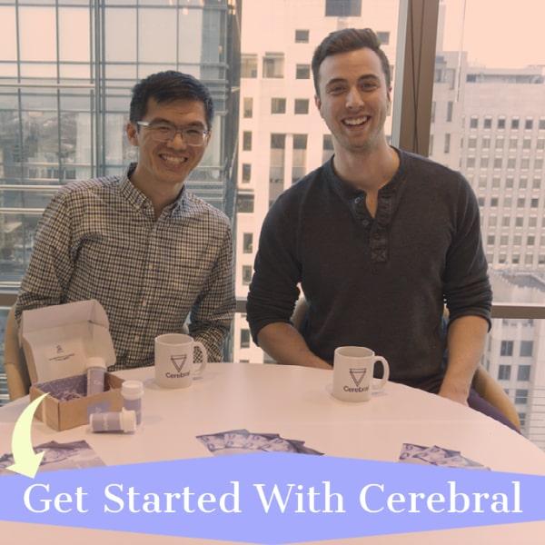 Kyle Robertson at Cerebral HQ focuses on mental health telemedicine