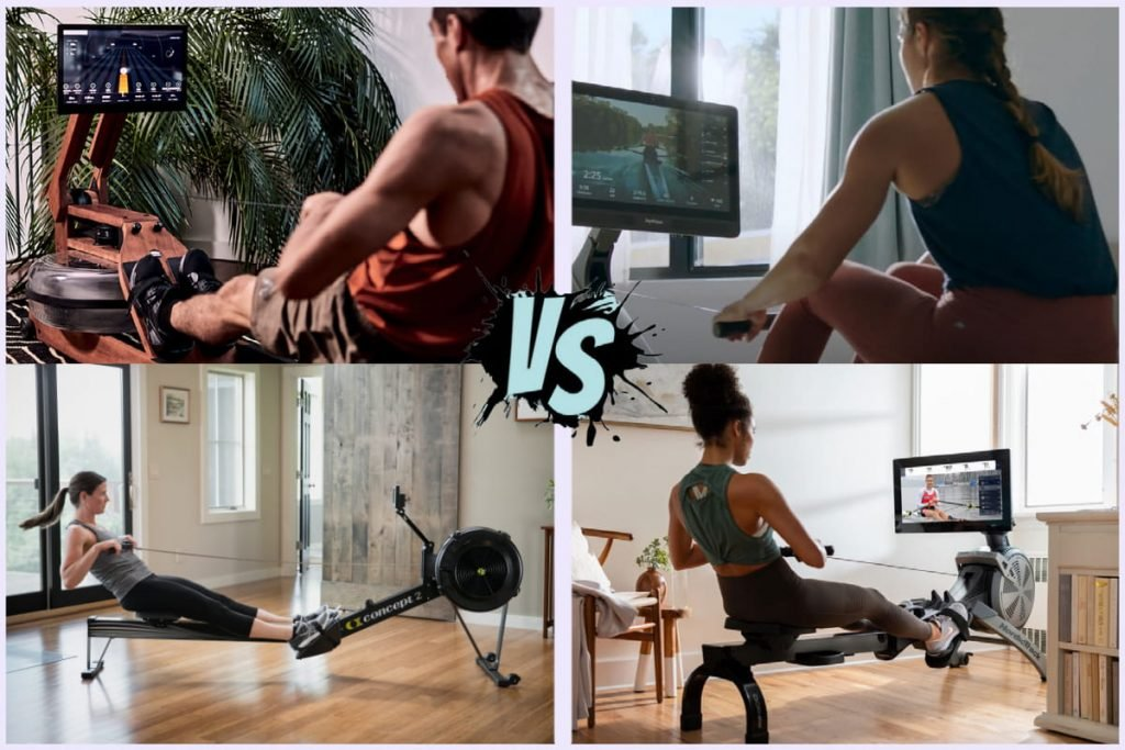 featured image for ergatta versus hydrow, concept 2 and NordicTrack RW900 smart rowers