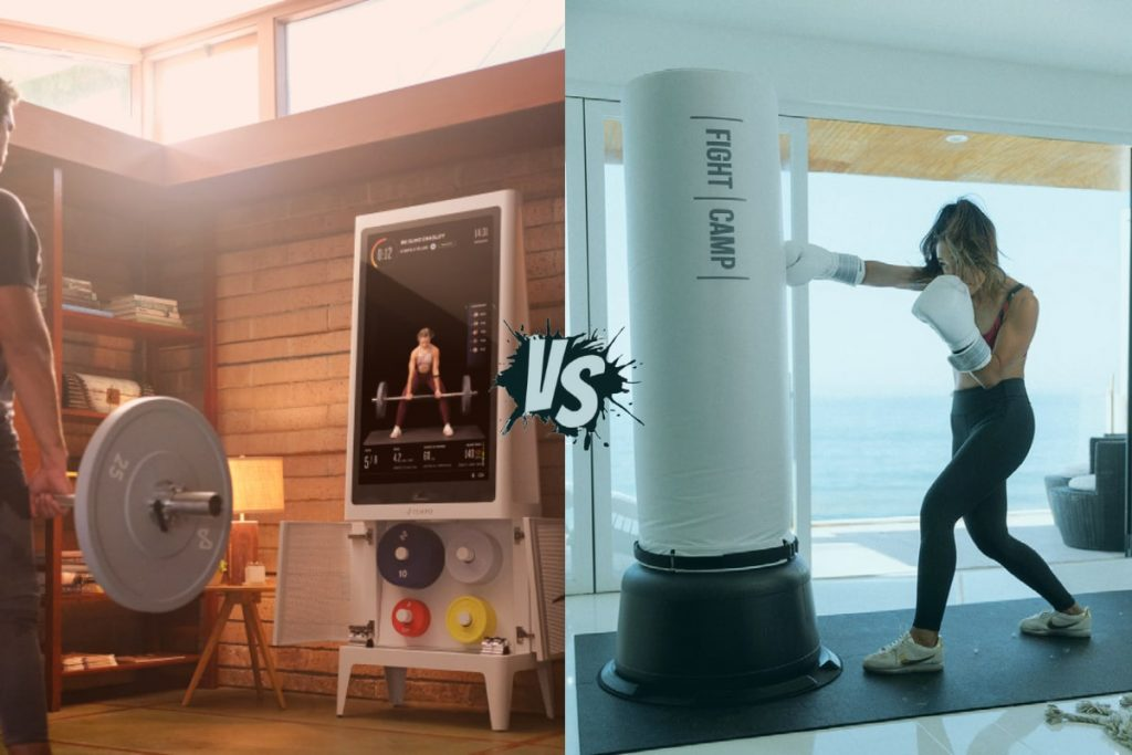 Tempo Fit Studio versus Fight Camp - home gym comparison featured image