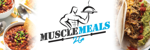 The brand logo for Muscle Meals 2 Go