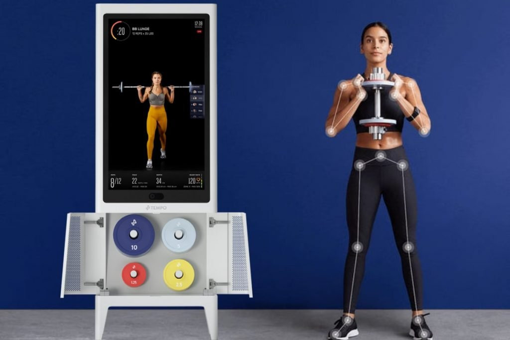Tempo home gym powered by AI technology