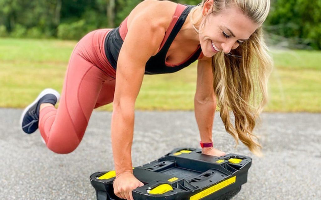 workout with terra glide with no excuses