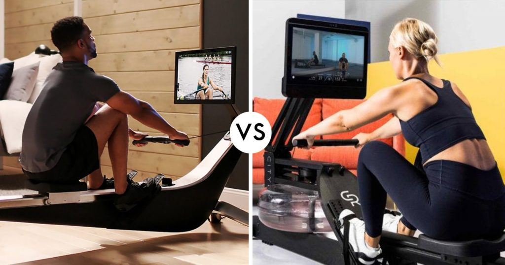 cityrow go rower compared to hydrow