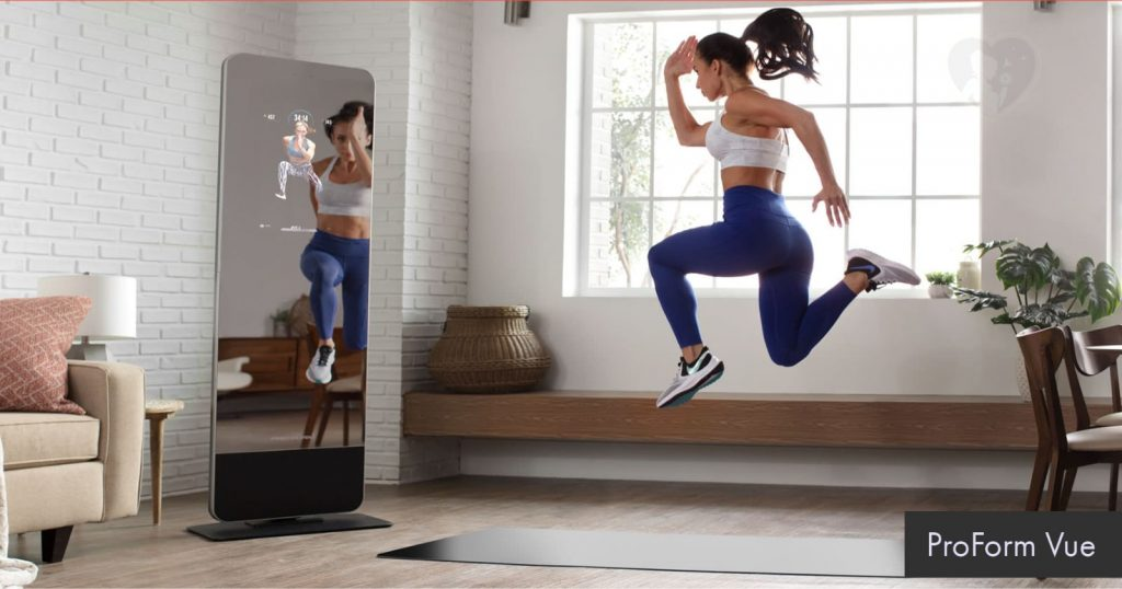 ProForm Vue - the fitness mirror all-in-one home gym