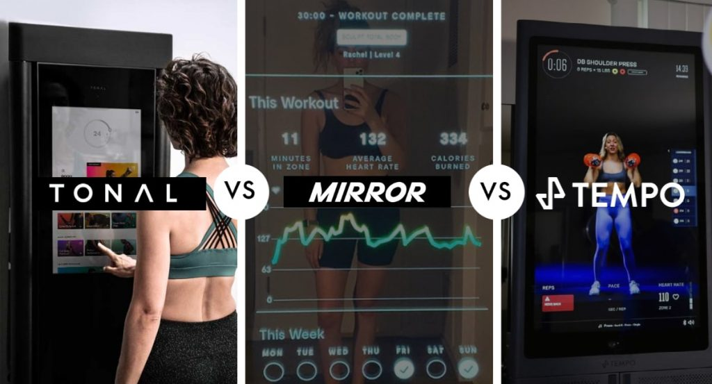 Mirror, Tonal or Tempo is better for cardio and strength training