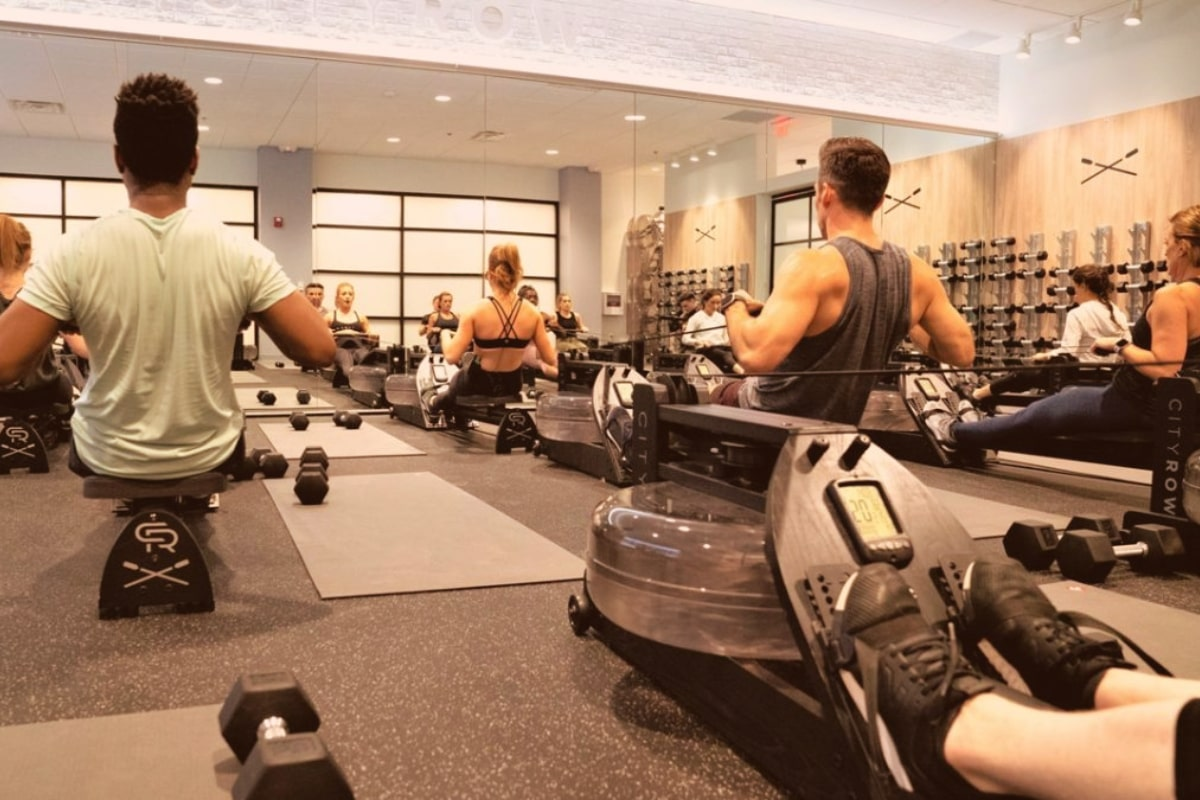 cardio and strength with cityrow go rowing machine