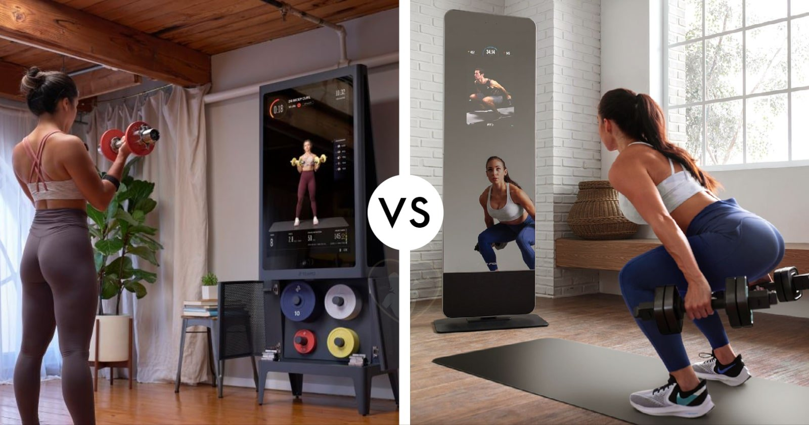 home gym tempo compared to proform vue