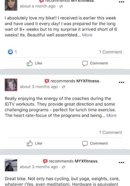 myx fitness bike customer reviews 1