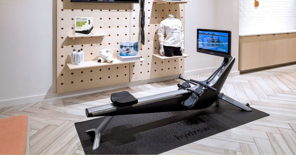 featured image for hydrow rowing machine article