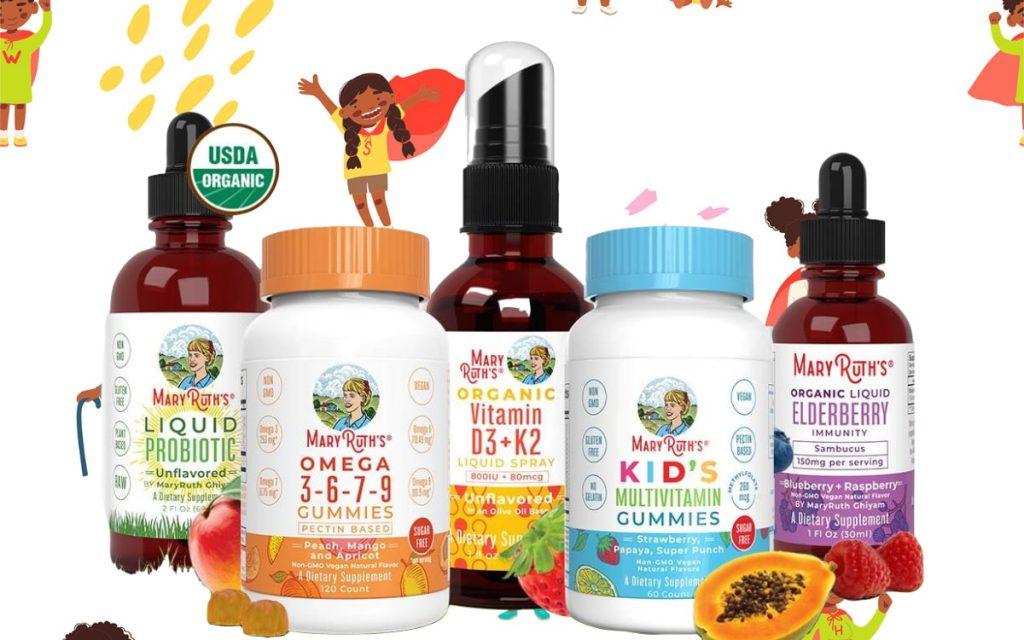 kid's multivitamins from Mary Ruth's Organics