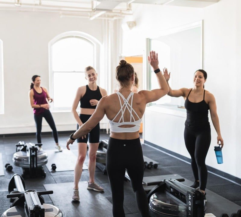 rowing experience in NYC studio by CITYROW GO
